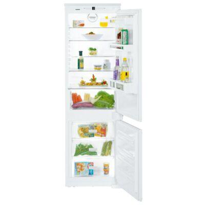Liebherr ICS 3334 beépíthető kombinált hűtőszekrény 2 hűtőkörrel BioCool 194/80L A++