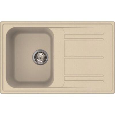 LIVINOX ECOSTONE HOME 300 beige gránit mosogatótálca