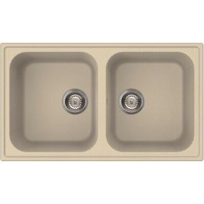 LIVINOX ECOSTONE HOME 450 beige gránit mosogatótálca