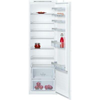 NEFF KI1812F30 Beépíthető hűtőszekrény érintőgombokkal LED világítással 314L A++