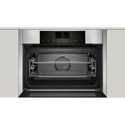 NEFF C15FS22N0 Beépíthető kompakt sütő és gőzpároló FullSteam funkcióval 47L A+