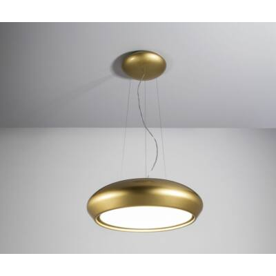 SIRIUS SILT 26 Arany függesztett design lámpa kézzel készített kerámia bevonattal