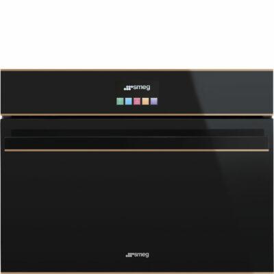 SMEG SF4604MCNR Dolce Stil Novo beépíthető kompakt mikrohullámú sütő 40L A+