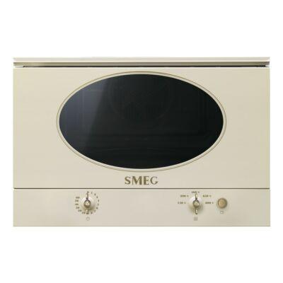 SMEG MP822NPO Colonial beépíthető rusztikus bézs/bronz mikró