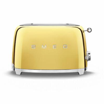 SMEG TSF01GOEU Retro 2 szeletes kenyérpirító - arany