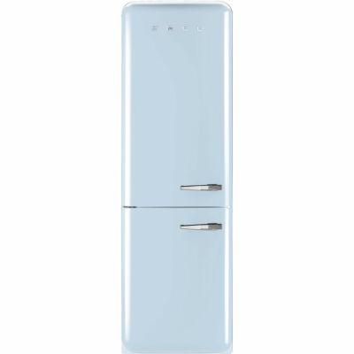 SMEG FAB32LAZN1 Old Timer retro világoskék kombinált hűtő No Frost 229/75L A++