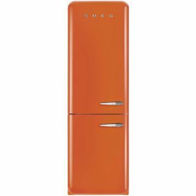 SMEG FAB32LON1 Old Timer retro narancssárga kombinált hűtő No Frost 229/75L A++