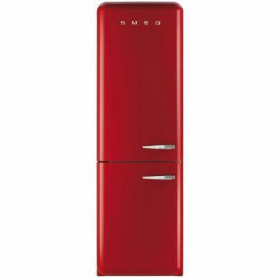 SMEG FAB32LRN1 Timer retro piros kombinált hűtő No Frost 229/75L A++