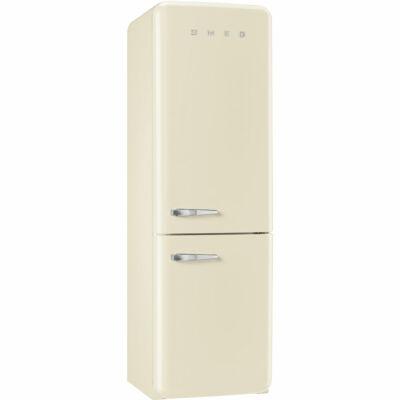 SMEG FAB32RPN1 Old Timer retro bézs kombinált hűtő No Frost 229/75L A++