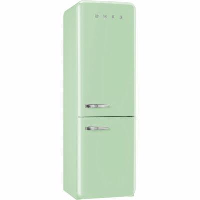 SMEG FAB32RVN1 Old Timer retro zöld kombinált hűtő No Frost 229/75L A++