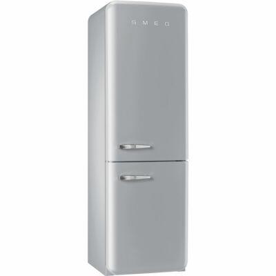 SMEG FAB32RXN1Old Timer retro szürke kombinált hűtő No Frost 229/75L A++