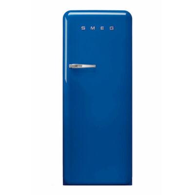 Smeg FAB28RBE3 retro egyajtós hűtőszekrény fagyasztóval kék jobbos 222/26L A+++
