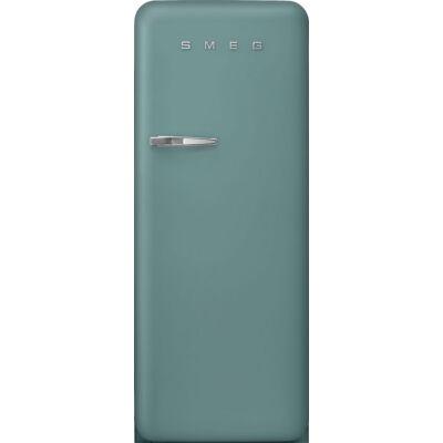 Smeg FAB28RDEG3 egyajtós kombinált hűtőszekrény matt smaragdzöld jobbos