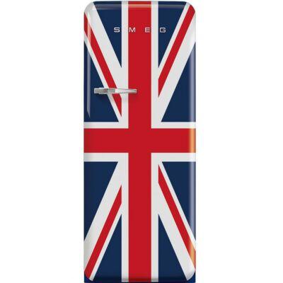 Smeg FAB28RDUJ3 retro egyajtós hűtőszekrény fagyasztóval angol jobbos