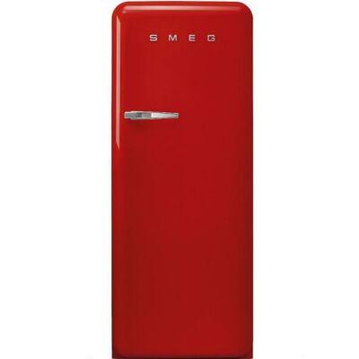 Smeg FAB28RRD3 retro egyajtós hűtőszekrény fagyasztóval piros jobbos 222/26L A+++