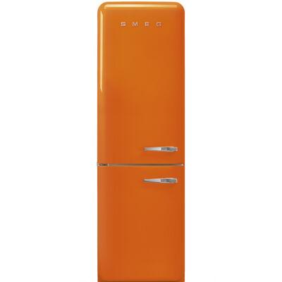 SMEG FAB32LOR3 Old Timer retro narancssárga kombinált hűtő balos No Frost 234/97L A+++