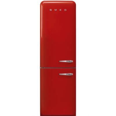 SMEG FAB32LRD3 Old Timer retro piros kombinált hűtő balos No Frost 234/97L A+++