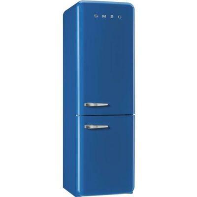 SMEG FAB32RBE3 Old Timer retro kék kombinált hűtő jobbos No Frost 234/97L A+++