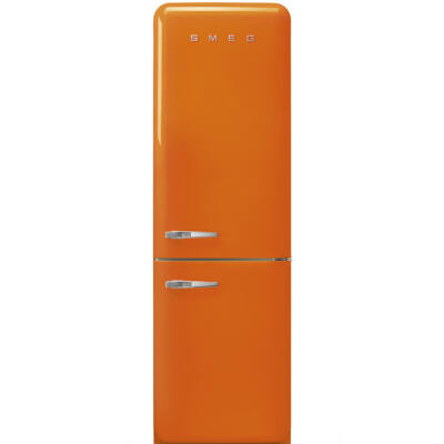 SMEG FAB32ROR5 Old Timer retro narancssárga kombinált hűtő jobbos No Frost 234/97L A+++
