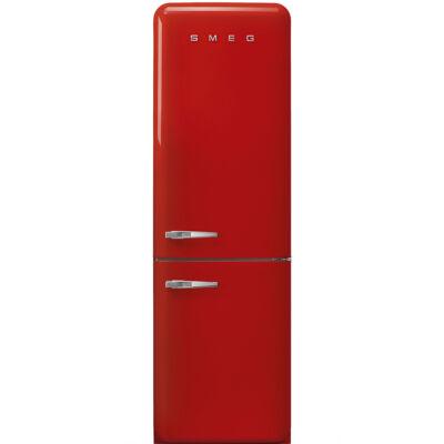 SMEG FAB32RRD3 Old Timer retro piros kombinált hűtő jobbos No Frost 234/97L A+++