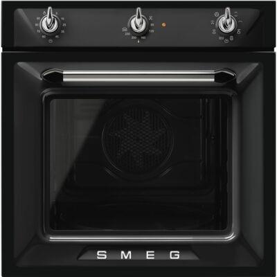 SMEG SF6905N1 Victoria rusztikus fekete multifunkciós grilles sütő 3 vezérlőgombbal 70L A