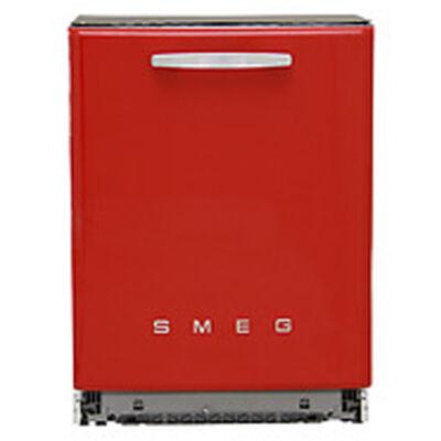Smeg ST2FABR2 beépíthető retro piros mosogatógép planetárium rendszer 13 teríték A+++