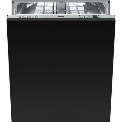 Smeg STA6443-3 teljesen beépíthető fekete mosogatógép 60cm széles 13 teríték A+++