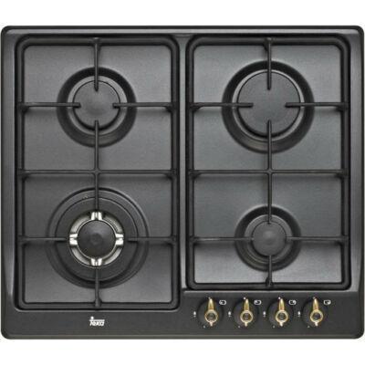 TEKA EH 60 4G TR Antracit rusztikus beépíthető 4 gázégős antikolt főzőlap wok égővel 60cm