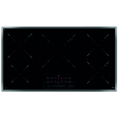 TEKA IR 9530 beépíthető indukciós fekete 5 zónás főzőlap melegentartó funkcióval 90cm