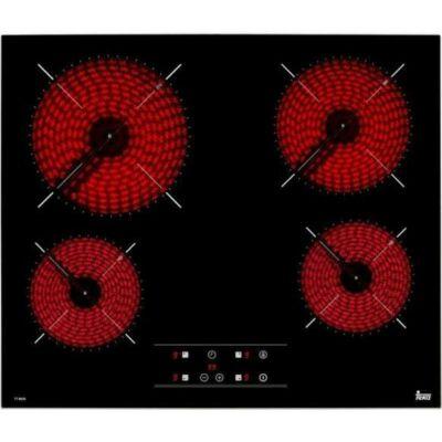 TEKA TB 6415 beépíthető fekete üvegkerámia főzőlap keret nélküli süllyeszthető 60cm