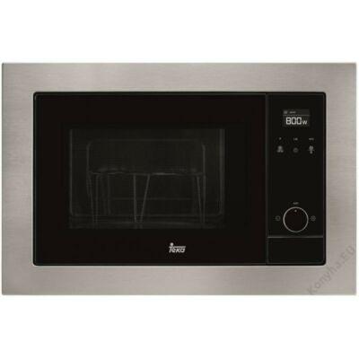 TEKA MS 620 BIS inox fekete beépíthető mikrohullámú sütő Quartz Grillllel 20L 700W