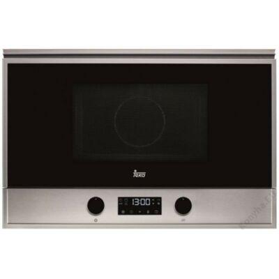 TEKA MS 622 BIS L inox-fekete beépíthető mikrohullámú sütő lehajtható grillel 22L 850W