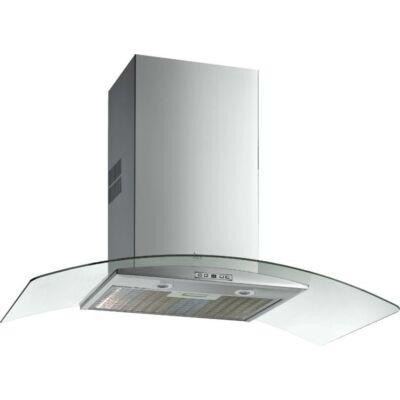 TEKA NC 980 inox fali dekoratív ultraslim páraelszívó íves üvegernyővel 90cm D