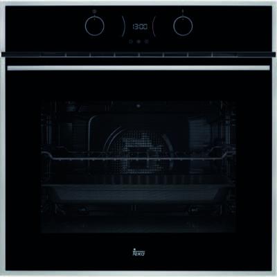 TEKA HLB 830 SS INOX fekete beépíthető gőztisztítős multifunkciós sütő grillel 70L A+