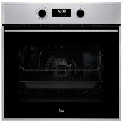 TEKA HSB 645 SS INOX fekete beépíthető multifunkciós gőztisztítós sütő grillel 70L A+