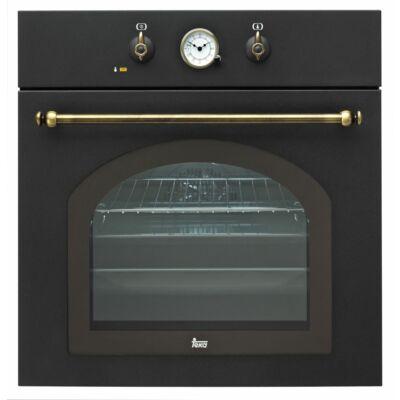 Teka HR 550 antracit rusztikus multifunkciós beépíthető sütő analóg órával 57L A