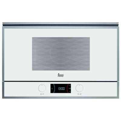 TEKA ML 822 BIS L WHITE beépíthető fehér mikrohullámú sütő lehajtható grillel 22L 850W