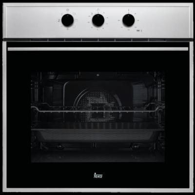 Teka HSB 615 Wish Inox/fekete multifunkciós beépíthető sütő grill funkcióval 70L A