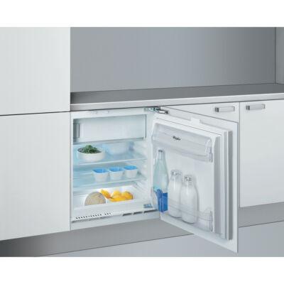 Whirlpool ARG 913/A+ pult alá építhető hűtőszekrény fagyasztóval 108/18L A+
