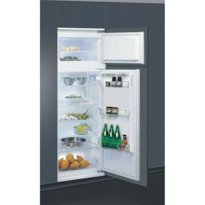 Whirlpool ART 3801 beépíthető felülfagyasztós  hűtőszekrény fagyasztóval 178/42L A+