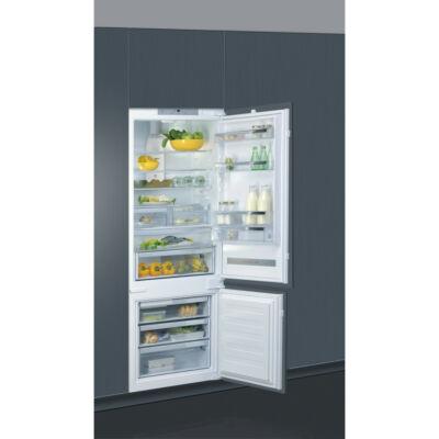 Whirlpool SP40 802 EU beépíthető kombinált antibakteriális hűtő kijelzővel 6 érzék 299/101L A++