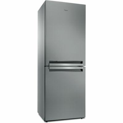 Whirlpool B TNF 5012 OX Inox kombinált hűtőszekrény 6 érzék No Frost 302/148L A++