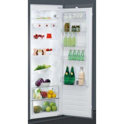 Whirlpool ARG 18070 A+ beépíthető egyajtós hűtőszekrény fagyasztó nélkül 318L A+
