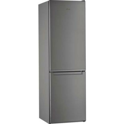 Whirlpool W5 821E OX inox 6 érzék alulfagyasztós kombinált hűtőszekrény 228/111L A++