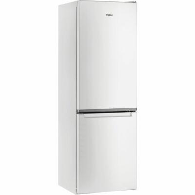 Whirlpool W5 821E W fehér 6 érzék alulfagyasztós kombinált hűtőszekrény 228/111L A++