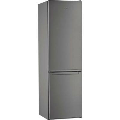 Whirlpool W5 921E OX inox 6 érzék alulfagyasztós kombinált hűtőszekrény 261/111L A++