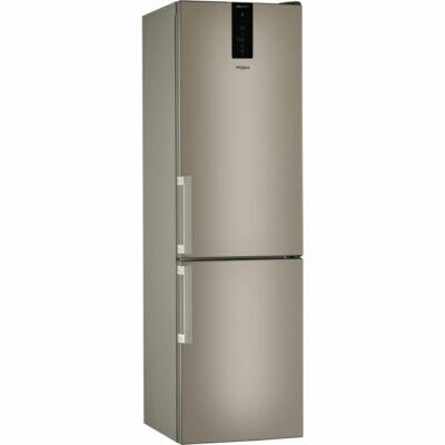 Whirlpool W9 931D B H bronz 6 érzék kombinált hűtőszekrény Dual NoFrost 252/97L A+++