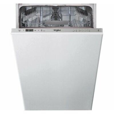 Whirlpool WSIO 3O34 PFE X Keskeny 6 érzék beépíthető mosogatógép 45cm 10 teríték A+++