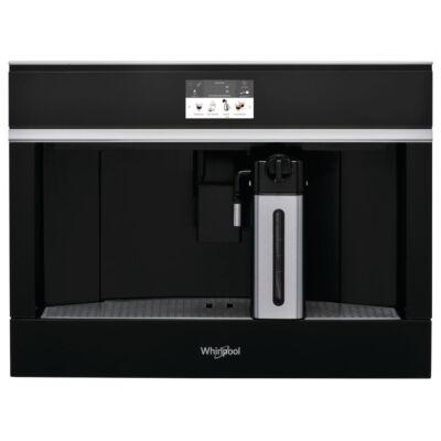 Whirlpool W11 CM145 Beépíthető fekete üveg automata kávéfőző darálóval LCD kijelzővel