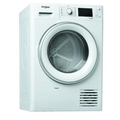 Whirlpool FT M22 9X2B EU fehér 6 érzék hőszivattyús szárítógép nagy kijelzővel 9kg A++